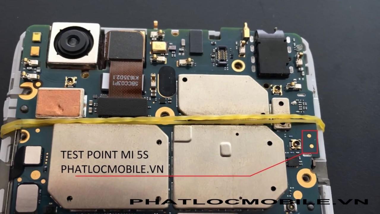 GUIDE ENTER EDL XIAOMI MI5S BY TEST POINT - Xiaomi Mi 5s