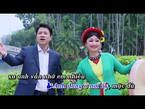 Gửi Về Quan Họ - Karaoke Song Ca Beat Chuẩn Nhất