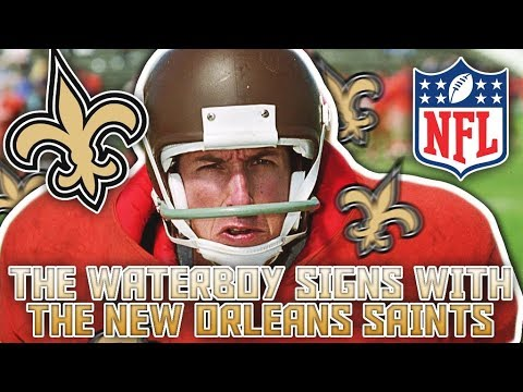 """THE WATERBOY"" SIGNS W/ THE NEW ORLEANS SAINTS! BOBBY BUECHER'S NFL JOURNEY EP. 1"