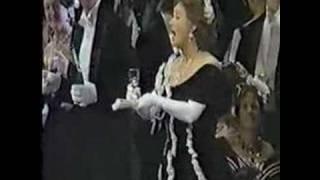 Placido Domingo and Lucia Popp: Brindisi from La Traviata