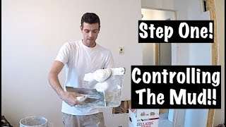 HOW TO USE A HAWK AND TROWEL(DRYWALL)