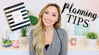 HOW TO STAY ORGANIZED, MOTIVATED & REACH GOALS | PLANNING TIPS | Alexandra Beuter