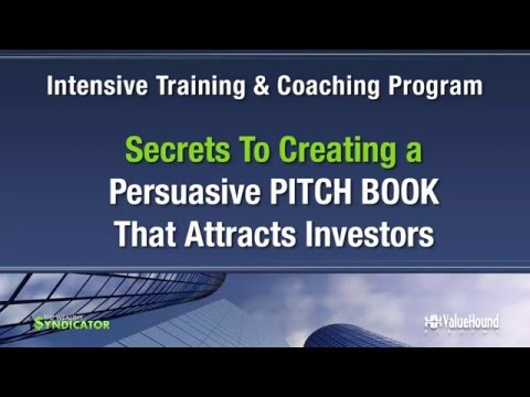 Pitch Book Program Details