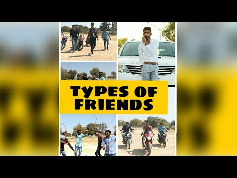 Types of Friends || સાચા ભાઈબંધ || Best Comedy video by Manthan Raval