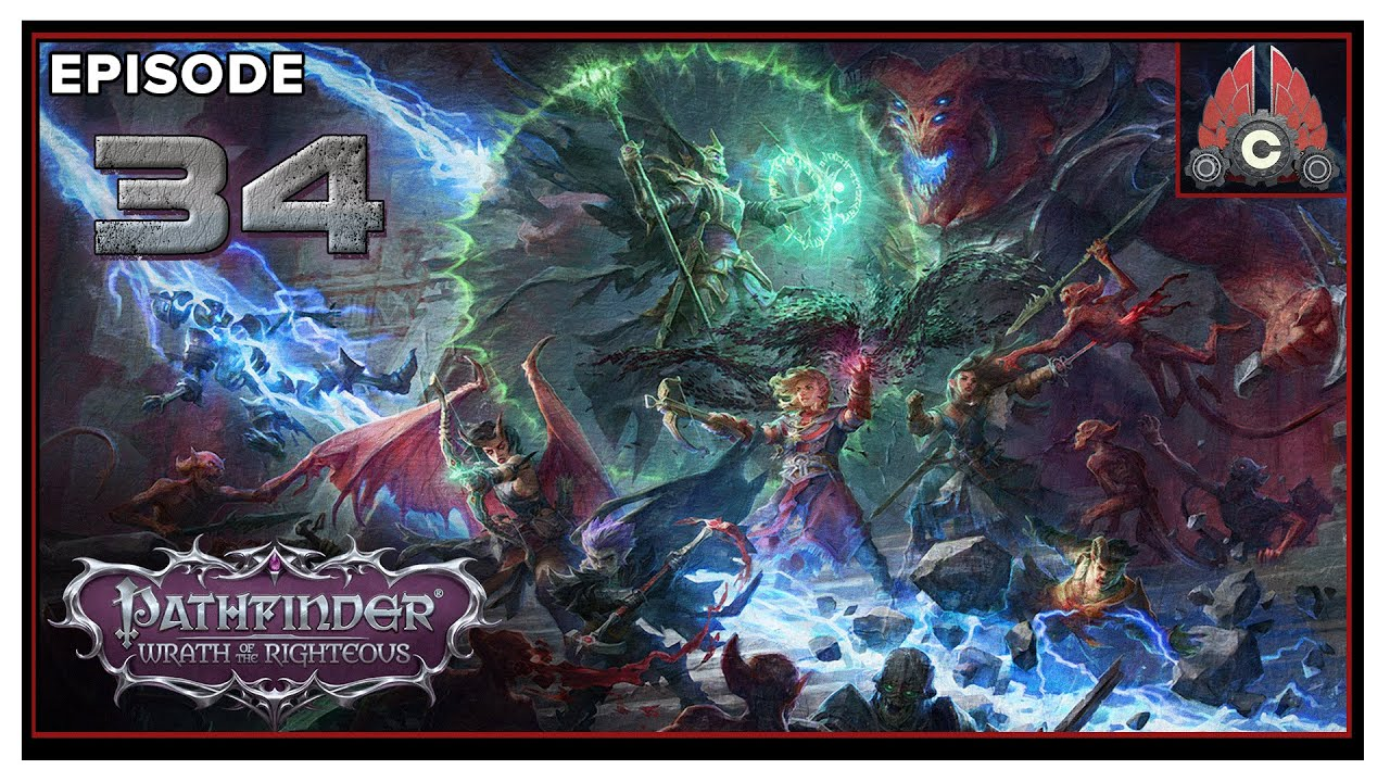 CohhCarnage Plays Pathfinder: Wrath Of The Righteous (Aasimer Deliverer/Hard) - Episode 34