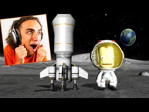 LANDING ON A NEW ALIEN PLANET! (Kerbal Space Program)