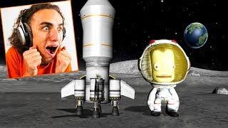 LANDING ON A NEW ALIEN PLANET! (Kerbal Space Program)