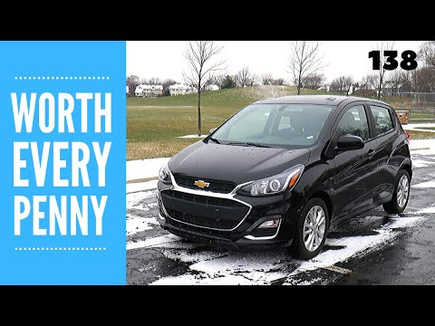 2020 Chevy Spark 1LT // Review And Test Drive // 100 Rental Cars
