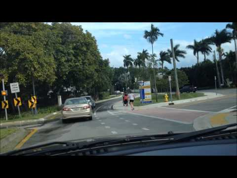 Miami to Miami Beach via the Venetian Causeway