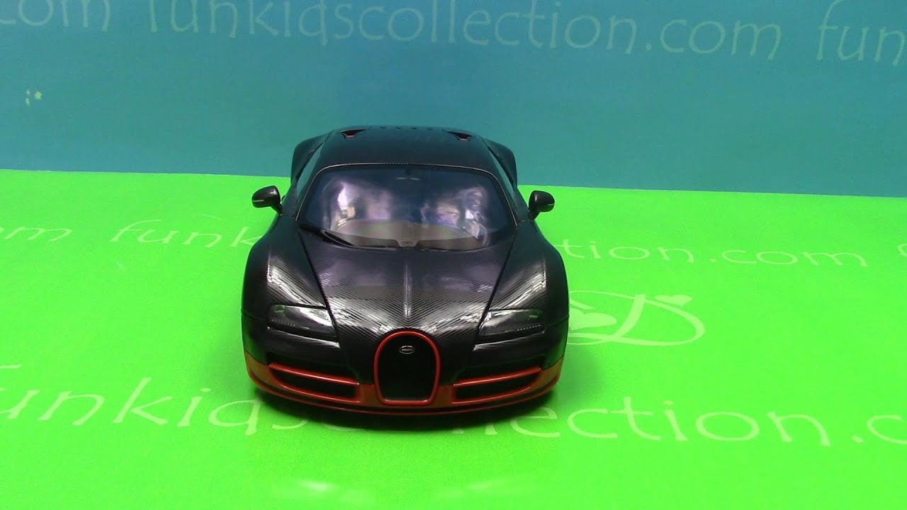 Bugatti Veyron Super Sport Die Cast Car Scale 1:18