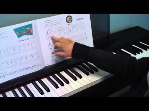 Piano Tutorial - Best Friends - Primer Level - Lesson