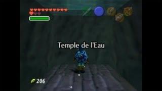 The legend of Zelda Ocarina of time 20 (3ème temple, celui de l'eau part 1)