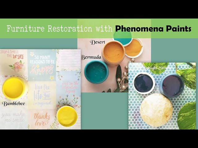 Phenomena Paints texturing | Decor Transfer Application | How to apply décor transfer P1-Ep4