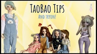 TaoBao Tips And Try On: How To Shop On TaoBao For BJDs