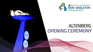 Opening ceremony marks the start of Altenberg 2020 | IBSF Official