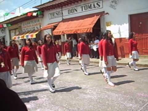 Desfile De 16 De Septiembre En Acuitzio Del Canje Youtube