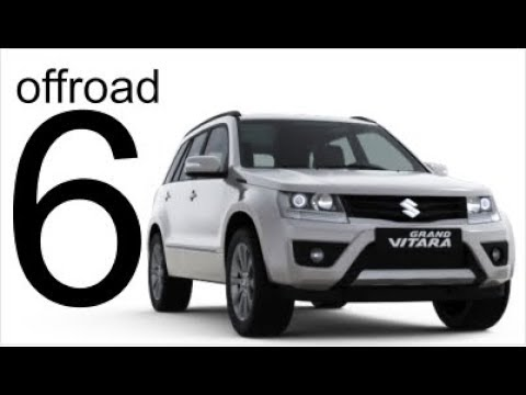 Suzuki Grand Vitara 4x4 Offroad Part 6