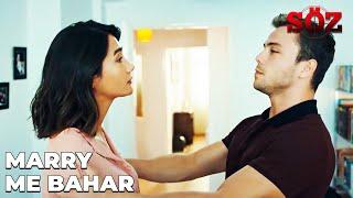 Yavuz's Marriage Proposal To Bahar | The Oath