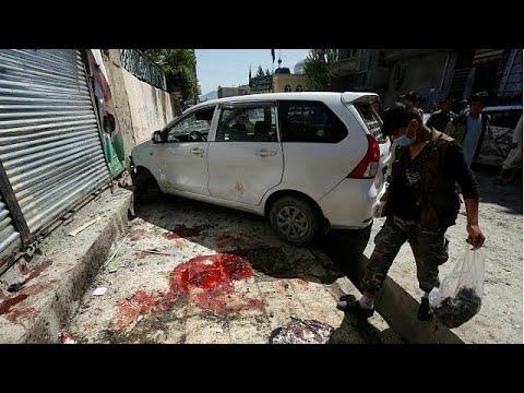 Domingo sangrento no Afeganistão