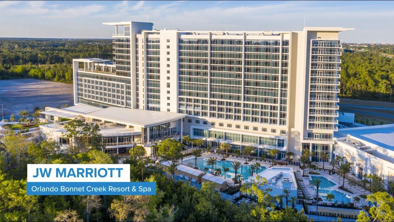 Project Profile: JW Marriott Bonnet Creek Resort & Spa