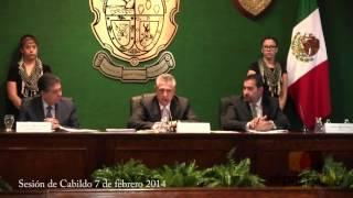 Sesión Cabildo 7 febrero Cd. Juárez, Chih.