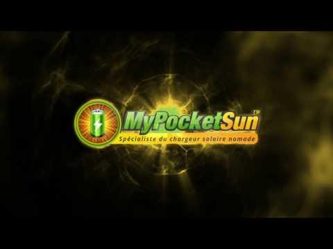 MYPOCKETSUN: Un CHARGEUR solaire ET une batterie externe SOLAIRE