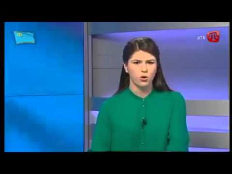 Crimean Tatar TV host support to Brother Azerbaijan! (05/04/2016)
