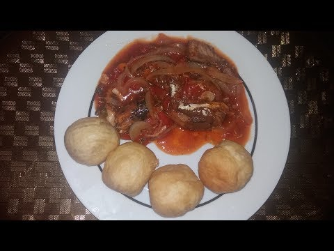 Fry Dumpling and Mackerel ( Jamaican Christmas Morning Breakfast )