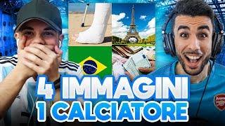INDOVINA IL CALCIATORE CHALLENGE!!! - 4 IMMAGINI 1 CALCIATORE w/ Ohm
