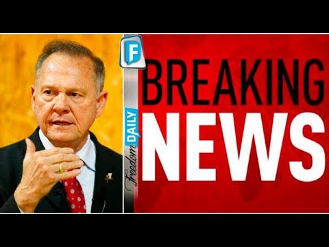 BREAKING NEWS OUT OF ALABAMA MOORE JUST UNCOVERED MAJOR FRAUD!