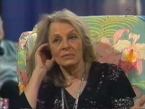 """VIVECA LINDFORS Interview (1983) """"Här är ditt liv"""" (Swedish TV)"""