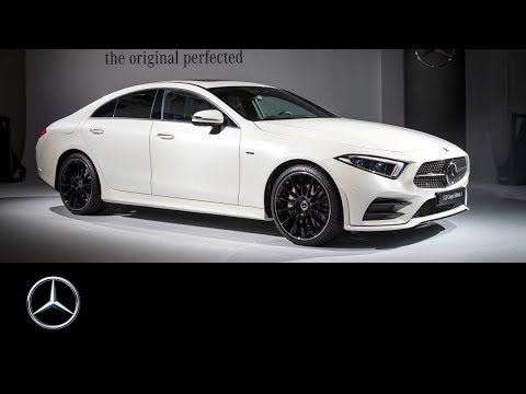 The new Mercedes-Benz CLS – The Original. Perfected. Coming soon.