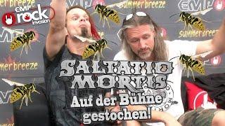 SALTATIO MORTIS - Auf der Bühne gestochen