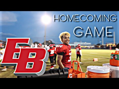 East bay high school; Homecoming football game