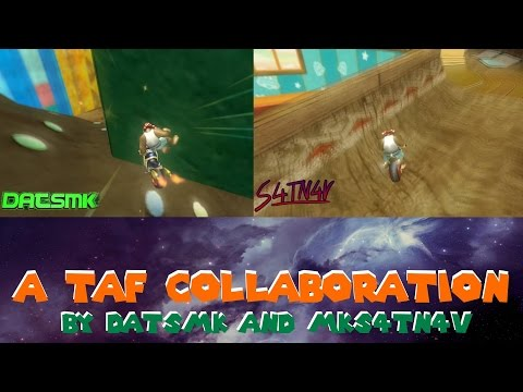 [MKWii] Marble Towers TAF Collab with MKS4TN4V (Infinite Shrooms) - 100 Subs Special Part 1