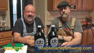 Episode #134 - Double Barley Brewing - Thrilla In Vanilla Porter And Steak Cake Stout