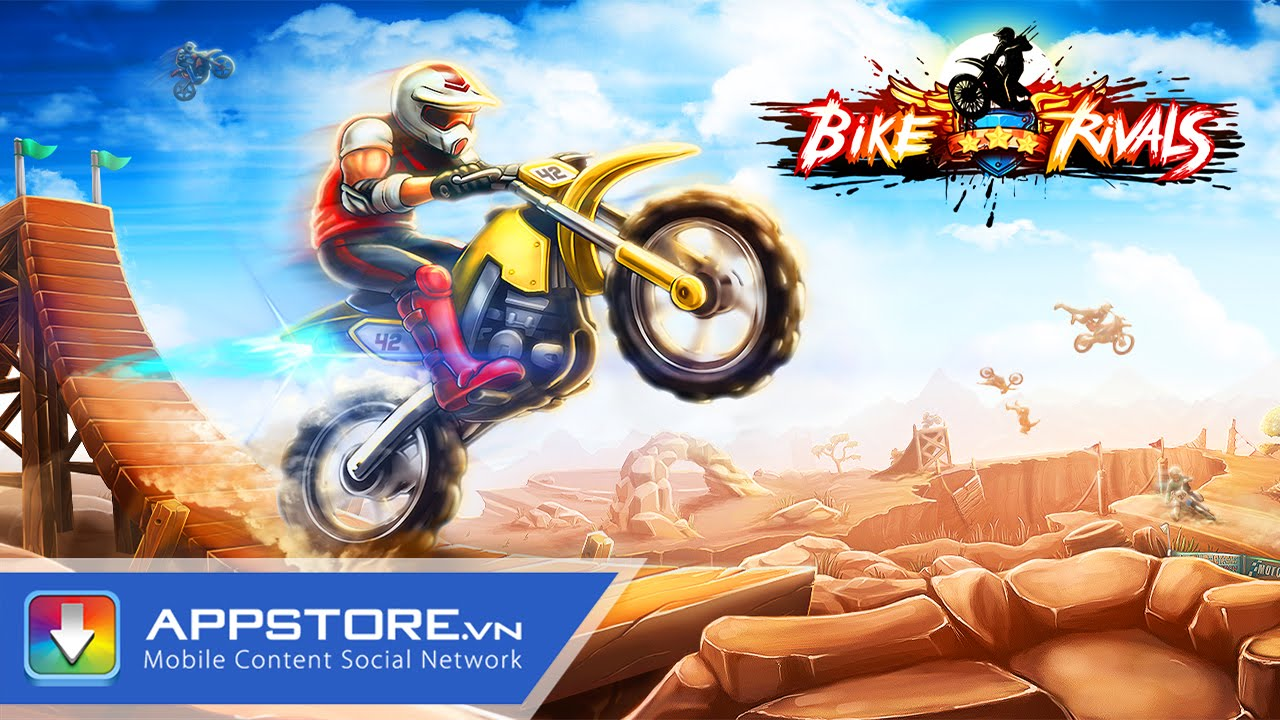 [iOS Game] Bike Rivals - Đua xe cực đỉnh cực khó - AppStoreVn