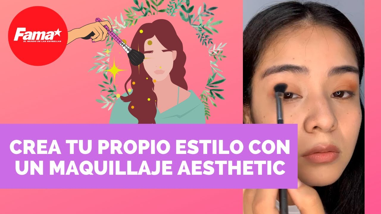 Maquillaje aesthetic para pieles morenas | TUTORIAL PASO A PASO