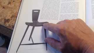 How To Make A Three Legged Stool Designed By Tage Frid. Part 1