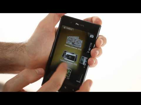 LG Prada 3.0 unboxing and user interface demo