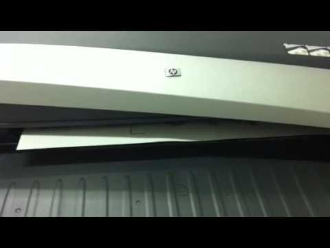 Hp designjet 110plus printer series