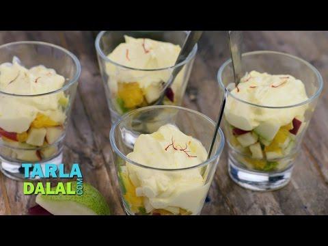 Mixed Fruit Shrikhand (Diabetic Recipe) by Tarla Dalal