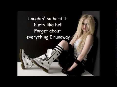 Runaway - Avril Lavigne lyrics