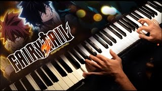 "Fairy Tail - ""Edge of Life - Believe In Myself""【Opening 21】(Piano cover)"