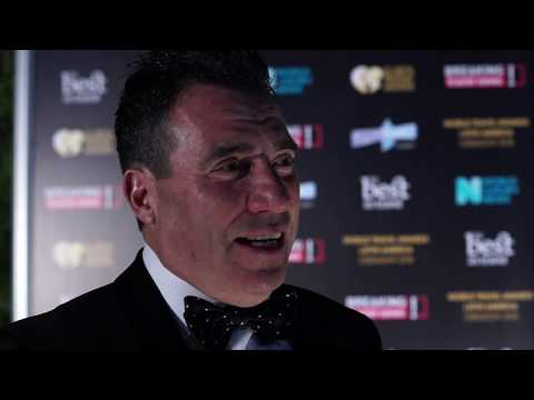 Alberto Holgado, owner, Charming Luxury Lodge & Private Spa (Spanish)