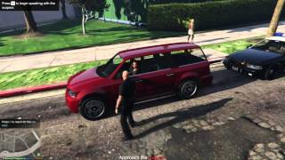 GTA 5 mod LSPDFR Играем за копа #1