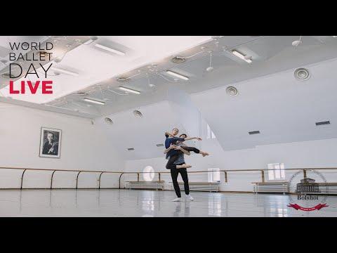 #WorldBalletDay 2020 - The Bolshoi Ballet LIVE