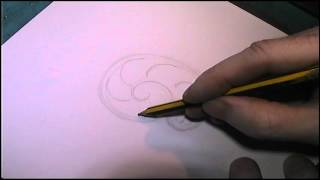 Basic Scrollwork Tutorial Drawing Formula by Shaun Hughes