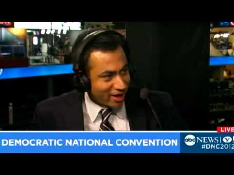 Kal Penn DNC : Actor on sexyface, Paul Ryan's 'Faded Obama Posters' Story