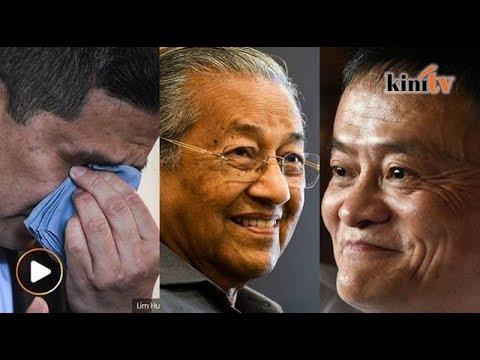 Tumpahnya air mata Azmin Ali, Dr M genius kata Jack Ma - Sekilas Fakta, 18 Jun 2018